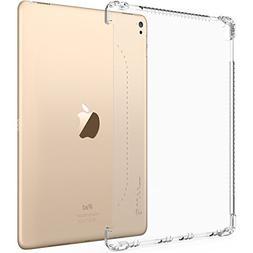 iPad Pro 9.7 Case, LUVVITT CLEAR GRIP Flexible Soft Transpar