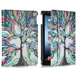 For iPad 9.7 inch 2018 6th Air 2 Wallet Folio Case Stand Sma