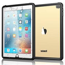 Temdan iPad Pro 9.7 Waterproof Case Rugged Sleek Transparent