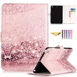 Monstek New iPad 9.7 2017 Case - Smart PU Leather Case Flip