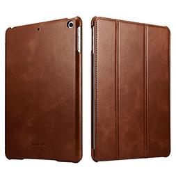 New iPad 9.7 2018 / 2017 Case, Icarercase Vintage Series Gen