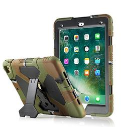 ACEGUARDER New iPad 9.7 2017 Case    Full Body Rugged Protec