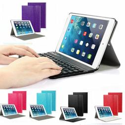US For Apple iPad Air 1 Wireless Smart Bluetooth Keyboard Fo