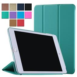 iPad Air 1 9.7 Inch Case Tri-Fold Translucent Ultra Slim Sma
