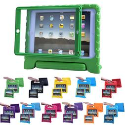 iPad Air 2 Bumper Case for Kids Shockproof Cover with Built