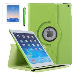 iPad Air 2 Case, AiSMei Rotating Stand Case Cover with Auto