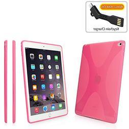 BoxWave iPad Air 2 Case,  Premium Textured TPU Rubber Gel Sk
