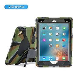 iPad Air 2 Case, iPad Kids Case, Aceguarder Shockproof Scrat