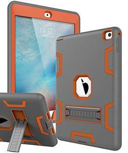 TOPSKY iPad Air 2 Case, iPad A1566/A1567 Kids Proof Case, He