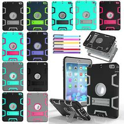 For iPad Air 2 Mini 4 9.7 2018 Pro Case Shockproof Rubber He