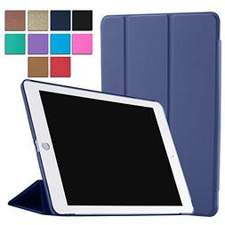 iPad Air 2 Case Tri-Fold Translucent Ultra Slim Smart   for