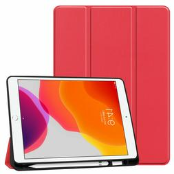 """iPad Air 3rd Case 10.5"""" Magnetic Smart Cover Stand with Penc"""