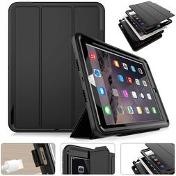 Hybrid Protective Tough Armor Kids Case For iPad 2017/ 2018