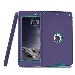 iPad Air Case, iPad 5 Case,UZER Heavy Duty Shockproof Anti-s