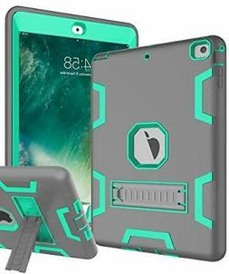 TOPSKY iPad Air Case, iPad |Grey Green)
