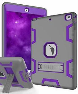 TOPSKY iPad Air Case, iPad  Grey Purple)