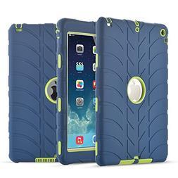 iPad Air Case,iPad 5 Case, UZER Tire Pattern Shockproof Anti