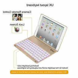 For Ipad Air2 Game Keyboard With Case Backlit Bluetooth Keyp