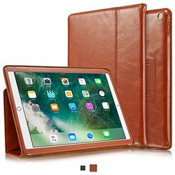 KAVAJ New iPad Case 2018/2017 Leather Cover Berlin for Apple