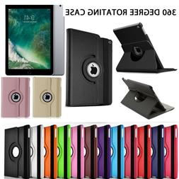 iPad Case 360 Rotating Stand Flip Cover Fit For iPad 234 Min