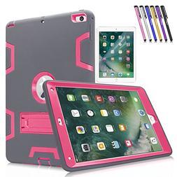 """New iPad 9.7"""" Case, Mignova Heavy Duty Rugged Hybrid Protect"""