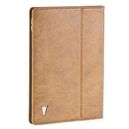 iPad Pro Case / Cover, Leather  Premium USA Tan Leather case