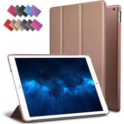 New iPad 9.7-inch 2018 2017 Case, ROARTZ Rose Gold Slim-Fit