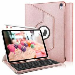 iPad Keyboard Case for iPad Pro 11 inch- 360 Degree Rotating
