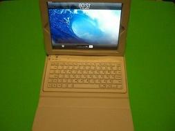 iPad Leather Case With Bluetooth V3.0 Keyboard- iPad 4/3/2 +