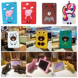 For iPad Mini 1/2/3/4/5/6 Pro Case Cute 3D Cartoon Animal So