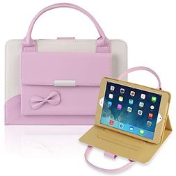 IPad Mini 1/2/3/4 Case,Gemwon Lovely Handbag for Kids,Synthe