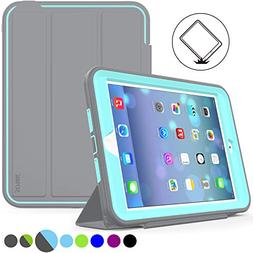 iPad Mini 1/2/ 3 Case Three Layer Heavy Duty Shock Poof Smar