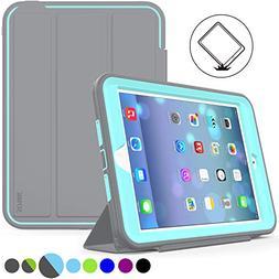 iPad Mini 1/2/ 3 Case Three Layer Heavy Duty Shock Poof Smar