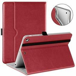 DTTO IPad Mini 1 2 3 Case, Premium Leather Folio Stand Cover