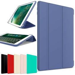 For iPad Mini 1 2 3 4 5 2019 Luxury Smart Leather + Soft Rub