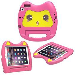 MoKo iPad Mini 3 / 2 / 1 Case, Kids Friendly Shock Proof Han