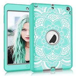 iPad mini/2/3 Case, Hocase Shockproof Hybrid Dual Layer Hard