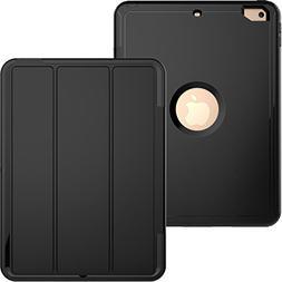 iPad Mini 1 2 3 Case,Shock Absorbing PU Leather Smart Cover
