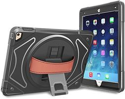 Moona iPad mini 1 2 3 Case Hybrid Full Body 3 Layer Armor Pr