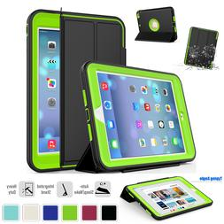 For iPad Mini 4 5 Magnetic Smart Cover Shockproof Hard Stand
