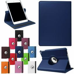 For iPad Mini 4 5 Smart Cover Leather 360 Rotating Stand Cas
