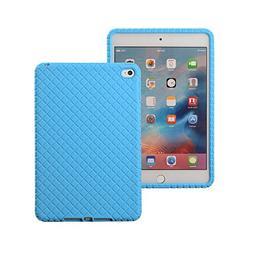Veamor iPad Mini 4 Silicone Back Case Cover, Anti Slip Flexi