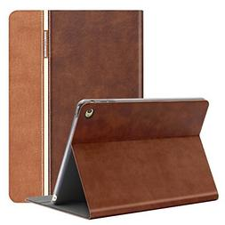 AUAUA iPad Mini 4 Case, iPad Mini 4 PU Leather Case with Sma
