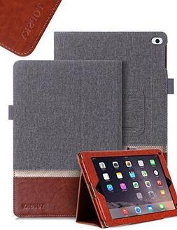 TOPSKY iPad Mini 4 Case ,Premium PU Leather And Fabric Case