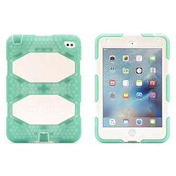 Griffin, iPad mini 4 Case with Stand, Green and White Surviv