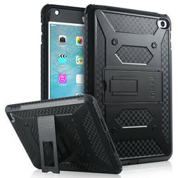 iPad Mini 4 Case, Knox Armor Shockproof PC Cover W/ Kickstan