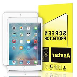 iPad Mini 4 Screen Protector, Asstar 0.3mm 9H Hardness 2.5D