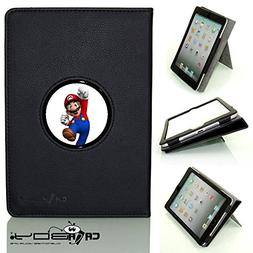 CALABOY Ipad Mini 4 SLEEP SMART black leather Case By Calabo