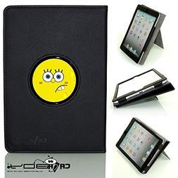CALABOY Ipad Mini 4 SLEEP SMART black leather Case By Calabo