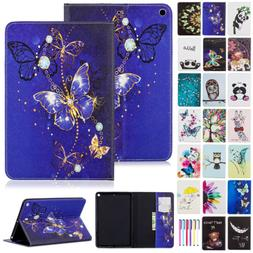 For iPad Mini 5th Generation Case Cute Pattern Leather Walle